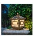 Đèn Sân Vườn Trụ Cổng Năng Lượng Mặt Trời Ô Cửa TC08 Sumosolar 1