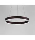 Đèn Led Trang Trí Thả Trần Viền Đen – LED 007 (Vòng Đơn)