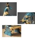 """Decor Composite Để Bàn Khổng Tước KD792L-JX"""""""