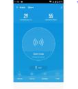 Còi báo động Wifi thông minh Tuya kết hợp cảm biến nhiệt độ độ ẩm NAS-AB02WTH