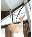 Đèn Gỗ Trang Trí Thả Trần Cá Voi WHALE0320-1