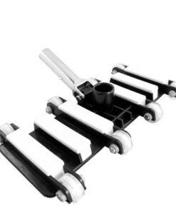 Bàn hút 8 bánh xe hồ bơi inox màu trắng đen dài 35cm BHHBINOX15